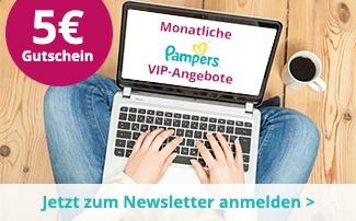 windeln.de Newsletter Anmeldung