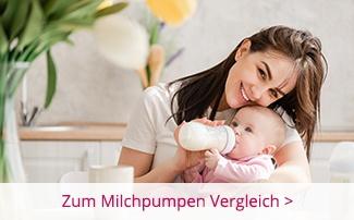 Mama füttert Baby mit Fläschchen