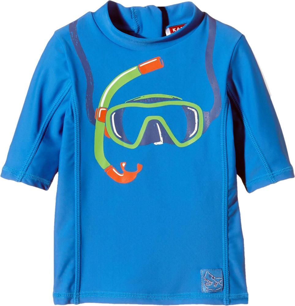 UV-Schutz Langarmshirt - Taucherbrille 74 brilliant blue