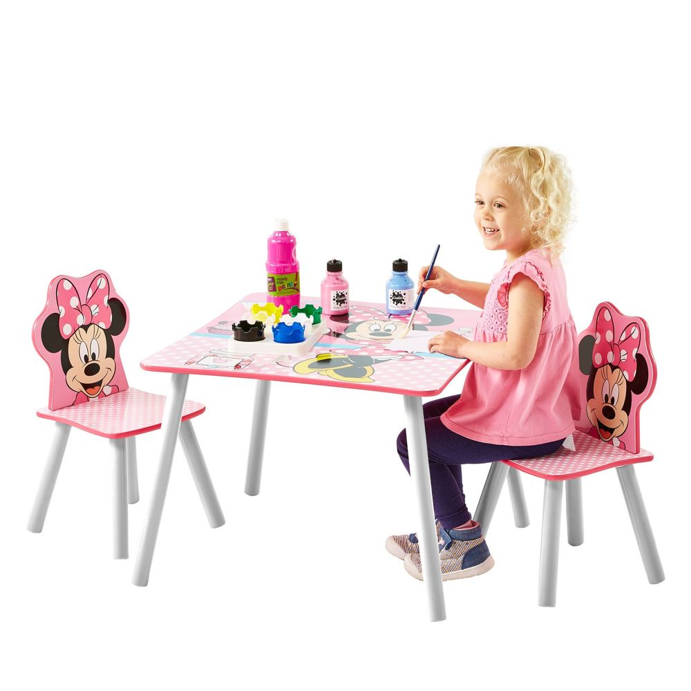 worlds apart kindersitzgruppe minnie mouse. Black Bedroom Furniture Sets. Home Design Ideas