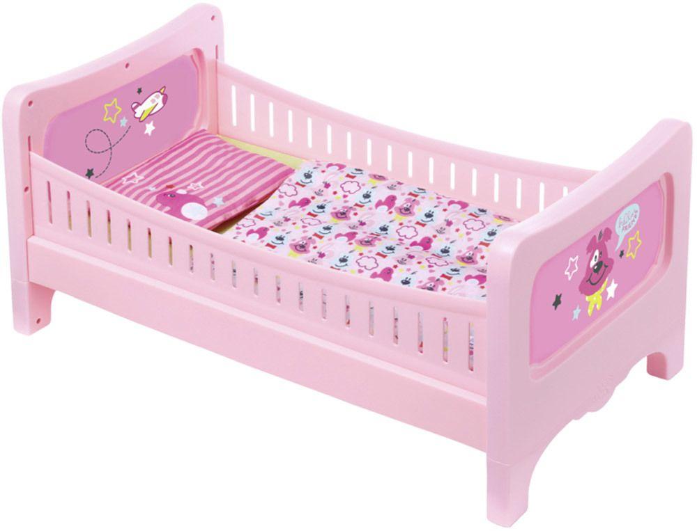 BABY born® Bett mit Kuschelbettzeug