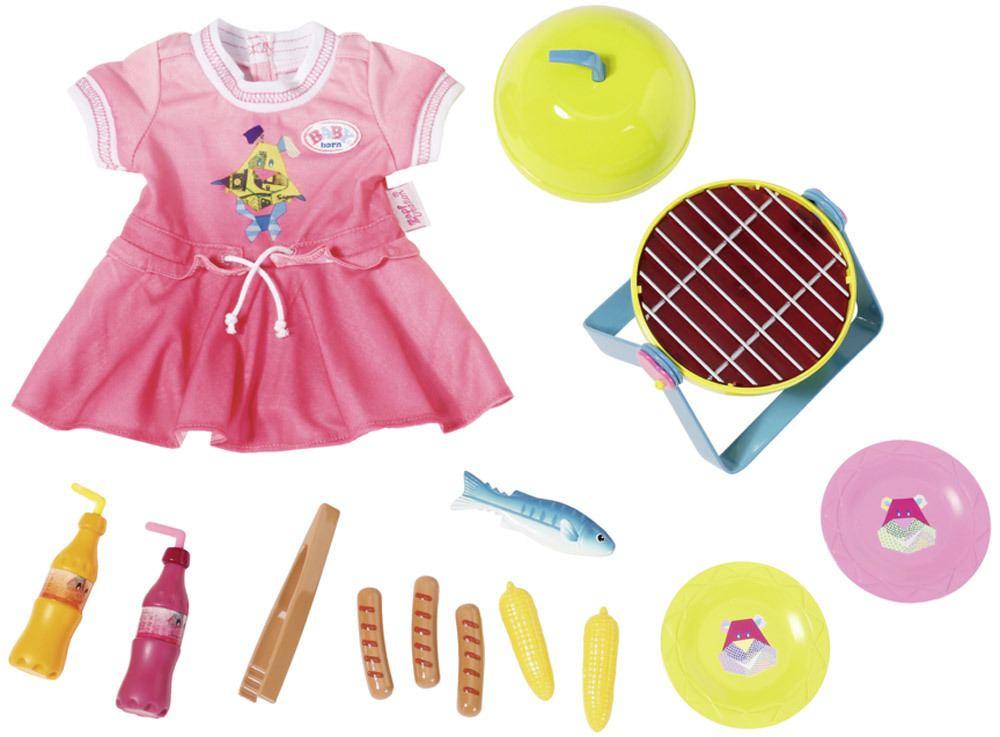 BABY born® Play&Fun Grillspass Set