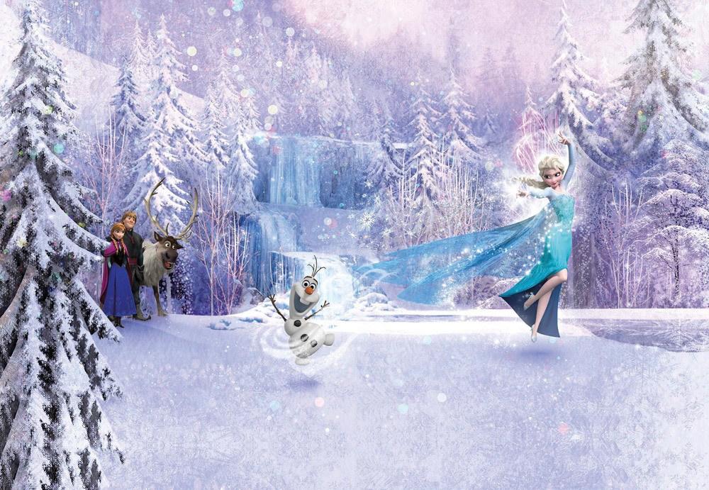 "Komar Fototapete ""Frozen Forest""  Frozen Forest, 8 Teile inkl. Kleister"