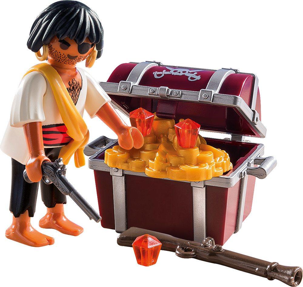 Playmobil Pirat mit Schatzkiste  Pirat mit Schatzkiste (9358)