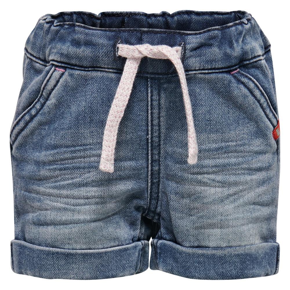 Breite reife offene Blue Jeans Hüften
