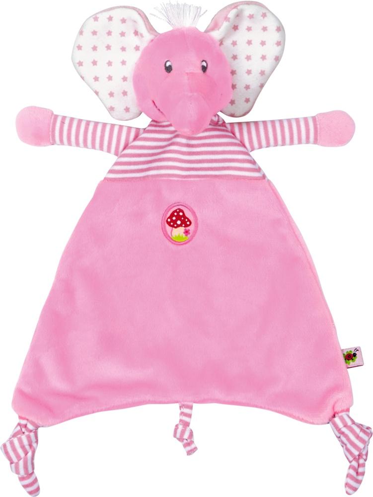 Die Spiegelburg BabyGlück Schnuffeltuch Elefant