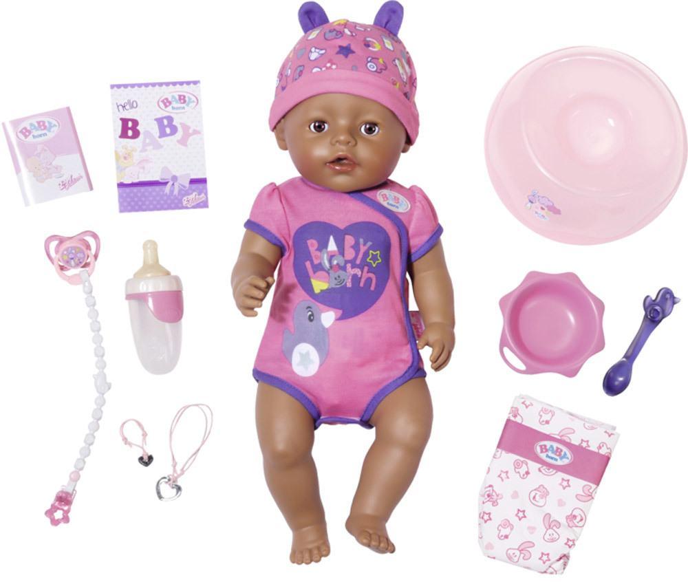 Born Baby Funktions-Baby-Puppe 43cm günstig kaufen Simba 105039005