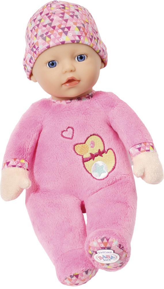 Kleidung & Accessoires 3 teilig lila bunt Baby Born Kleidung 43 cm